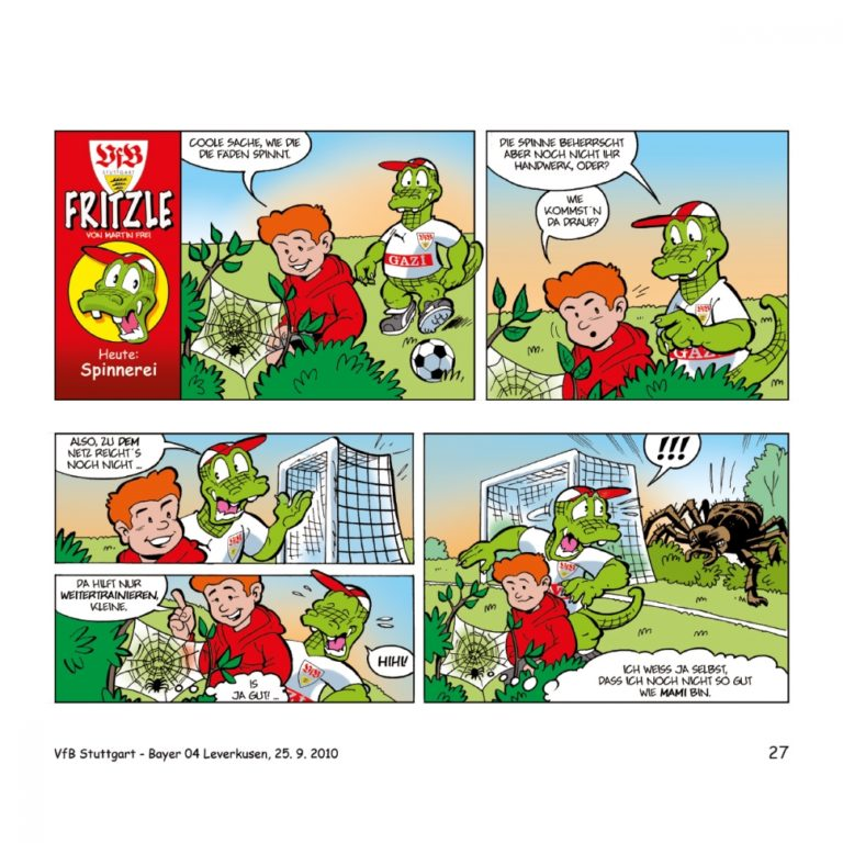fritzle  das vfbkrokodil  comicwelt verlag  comics wie